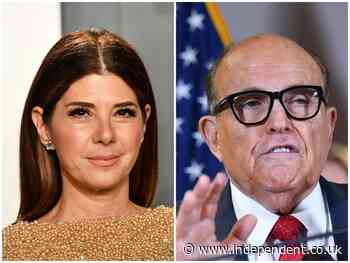 Marisa Tomei responds to Rudy Giuliani's My Cousin Vinny reference - The Independent