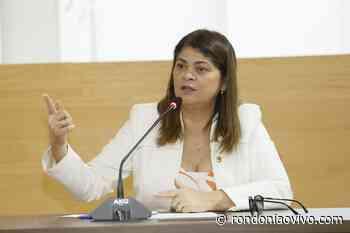 DEPUTADA: Cassia destina emenda para recuperação de estradas vicinais de Theobroma - Rondoniaovivo