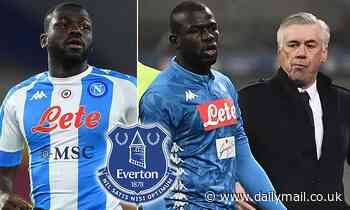 Everton 'eye summer swoop for Napoli's Kalidou Koulibaly' who worked under Ancelotti at Napoli