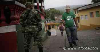Dos líderes sociales de Tarazá y sus familias salieron desplazados después de recibir amenazas - infobae