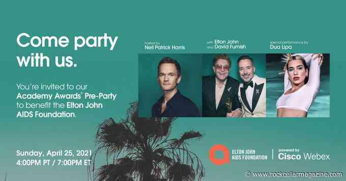 Elton John Academy Awards Pre-Party ft. Dua Lipa, Neil Patrick Harris 4/25 - Rock Cellar Magazine