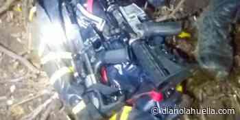 Encuentran dos fusiles AR-15 enterrados en Chirilagua - Diario La Huella