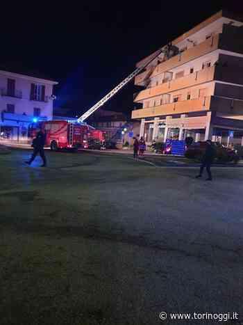Dopo l'incendio di giovedì mattina a Luserna San Giovanni gli evacuati non sono ancora rientrati in casa - TorinOggi.it