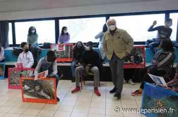 A Guyancourt, Yann Arthus-Bertrand fait mouche auprès des collégiens - Le Parisien