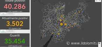 Coronavirus in Trentino, 4 casi a Mezzolombardo e Ziano di Fiemme. I 49 Comuni del contagio e dove sono avvenuti i 4 decessi - il Dolomiti