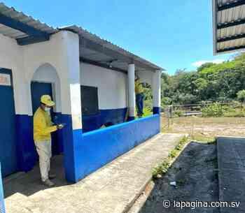 MOP remodela centro escolar en Ciudad Arce – Diario La Página - Diario La Página