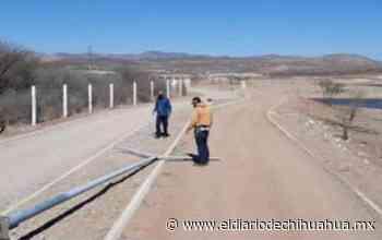 Derriban postes y roban cableado en el Encino - El Diario de Chihuahua