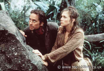 """Kathleen Turner Reveals Things Got Steamy When Shooting """"Romancing The Stone"""" - Top 10 Films"""