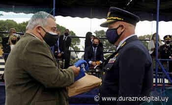 108º Fuerza Aérea: acto se cumplió en Santa Bernardina en adhesión al bicentenario de Durazno - duraznodigital.uy