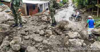 La creciente de la quebrada la Desmotadora en Dabeiba no dejó víctimas, solo daños materiales - El Colombiano
