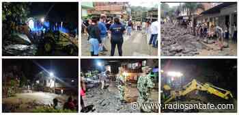Avanzan acciones de respuesta tras inundaciones en Dabeiba, Antioquia - Radio Santa Fe