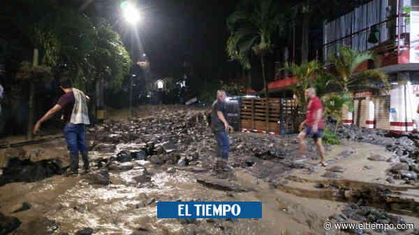Emergencias en Dabeiba: las imágenes que deja la tragedia por invierno - El Tiempo