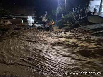 Invierno en Colombia: Dabeiba, afectada por desbordamiento de quebrada - La FM