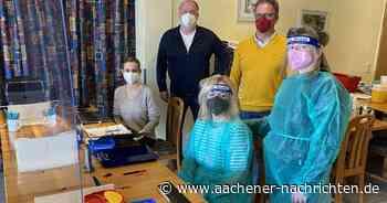 Neue Corona-Teststation in Simmerath eröffnet - Aachener Nachrichten