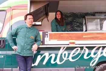 Un food-truck propose des hamburgers 100 % végans, à Beaugency - Beaugency (45190) - La République du Centre