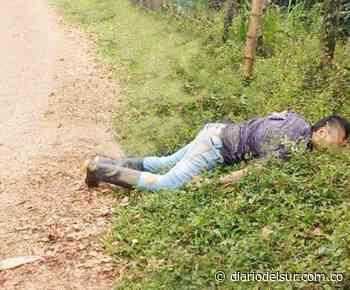 En Cuaspud hallaron el cadáver de joven venezolano - Diario del Sur