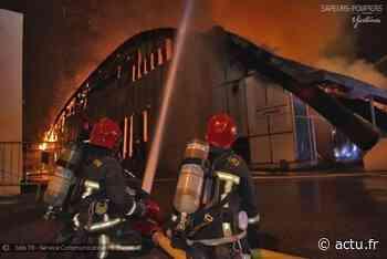 Yvelines. Mantes-la-Ville : le gymnase Aimé Bergeal entièrement détruit par un impressionnant incendie - actu.fr