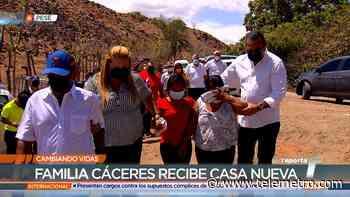 Cambiando vidas: Familia Cáceres Hernández de Pesé recibe su nueva casa - Telemetro