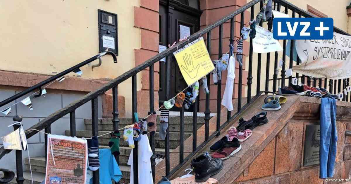 Eilenburg, Delitzsch, Düben: Proteste gegen Schulschließungen gehen weiter - Leipziger Volkszeitung