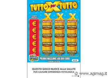 Vincita Gratta e Vinci, a Maniago (PN) vinti 50.000 euro con il tagliando 'Tutto X Tutto'Agenzia Giornalistica sul Mercato del Gioco - AGIMEG - AGIMEG - AGIMEG