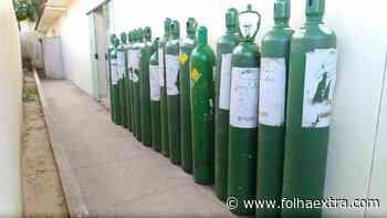 Sesa destina 20 cilindros de oxigênio para o município de Ibaiti - Folha Extra