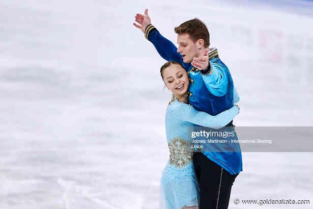 Boikova and Kozlovskii debut new program; lead pairs in Stockholm
