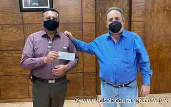 Alcalde de Guadalupe Victoria entregó apoyo para construcción de casa pastoral - El Sol de Durango