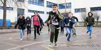 An der Grundschule Regenbogen Bernburg wird Sport mit Sachkunde kombiniert: Aktionen im Rahmen von salzland-läuft.de - Mitteldeutsche Zeitung