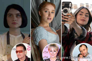 Bridgerton's Phoebe Dynevor to Emily in Paris' Lily Collins — the kids set to be as famous as mum and dad... - The Sun