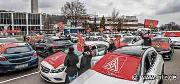 IG Metall hat in Neckartenzlingen zum Warnstreik aufgerufen- NÜRTINGER ZEITUNG - Nürtinger Zeitung