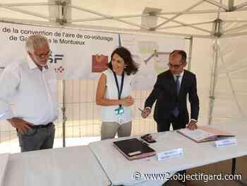 L'IMAGE DU JOUR Aire de co-voiturage de Gallargues-le-Montueux : les travaux peuvent débuter - Objectif Gard - Objectif Gard