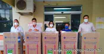 Alegrete repassa cinco respiradores à Santa Casa e reforça aparelhagem contra a Covid-19 - Jornal Correio do Povo