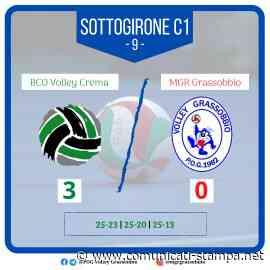 Volley Serie B: l'MGR Grassobbio cade a Crema, vince l'Imecom - Comunicati-Stampa.net
