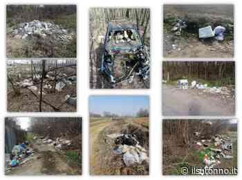 Turate, periferia disseminata di rifiuti: spunta anche una intera auto - ilSaronno