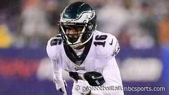 Eagles waive wide receiver Deontay Burnett