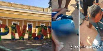 Policía presuntamente borracho arrolló a dos personas en Pivijay - Seguimiento.co