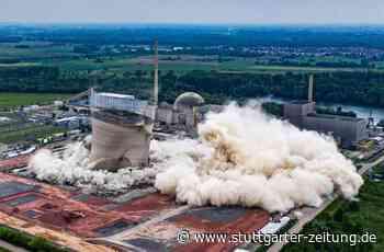 Rückbau von Atomkraftwerk - Poker um Reaktorschutt aus Philippsburg - Stuttgarter Zeitung