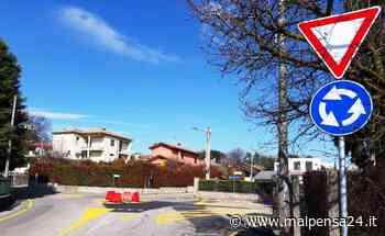 Ad Albizzate spunta una nuova rotonda. «Meno incidenti, più sicurezza» - malpensa24.it