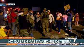Cierran vía en Chepo por invasión de terrenos - Telemetro