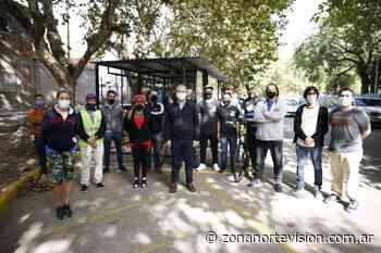 Tres de Febrero: nueva guardería de bicicletas en Santos Lugares - Zona Norte Visión