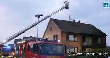 Großeinsatz der Feuerwehr: Brand sorgt für riesige Rauchwolke in Rastede - Nordwest-Zeitung