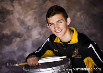 Bullock Creek's Lucas Kindy a percussionist, black belt, tree specialist - Midland Daily News