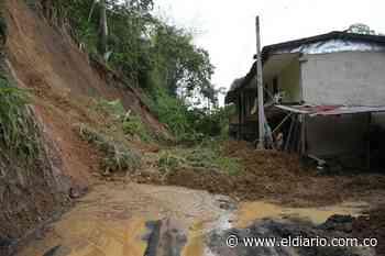 Deslizamiento de tierra en el sector de Pedregales de la vereda Betulia - El Diario de Otún