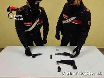 Tre pistole trovate in un campo a Vignate dai Carabinieri - Prima la Martesana