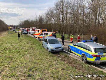 Frontalunfall bei Leingarten fordert mehrere Verletzte - Heilbronner Stimme