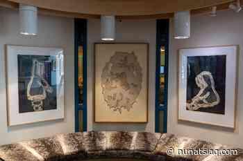Pangnirtung artist Elisapee Ishulutaq's work comes home to Nunavut - Nunatsiaq News
