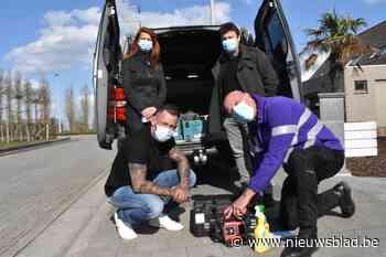 Na fietsen labelt Kortrijk nu ook werkmateriaal tegen diefstal