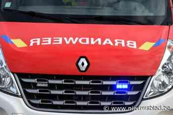Arbeider gewond bij dakbrand in Sint-Lambrechts-Woluwe - Het Nieuwsblad