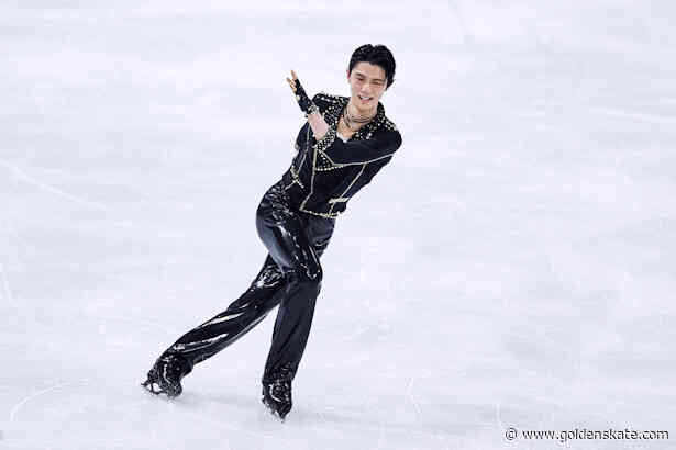 Hanyu rocks out in Stockholm