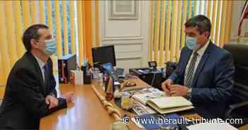 SERIGNAN - Visite du Préfet dans la commune - Hérault-Tribune